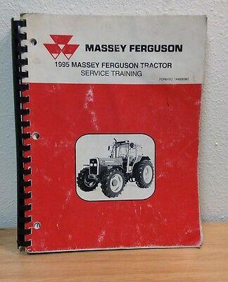 Full Size 1995 Massey Ferguson Mf Farm Tractor Service Training Manual Book