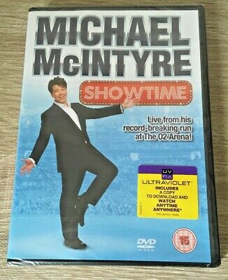 MICHAEL McINTYRE SHOWTIME (DVD, 2012) BNIW NEW SEALED GIFT PRESENT XMAS GIFT NEW ()