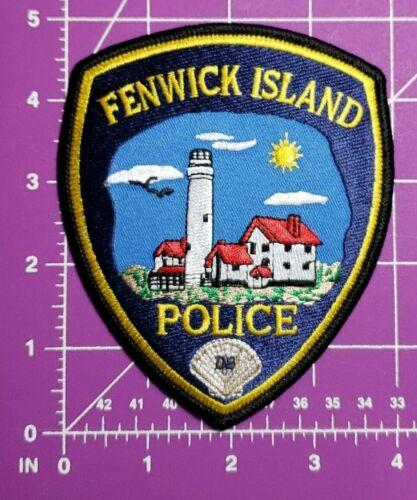Fenwick Island Delaware POLICE patch