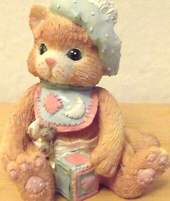 "Calico Kittens Enesco ""A Bundle of Love"" Collectible  figurines #628433"