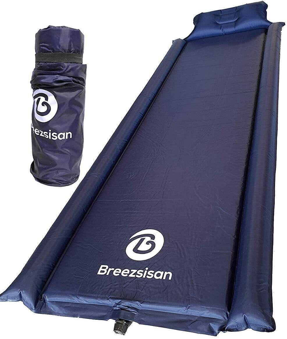 sleeping pad inflatable Foam pads+Air Mattress for camping H