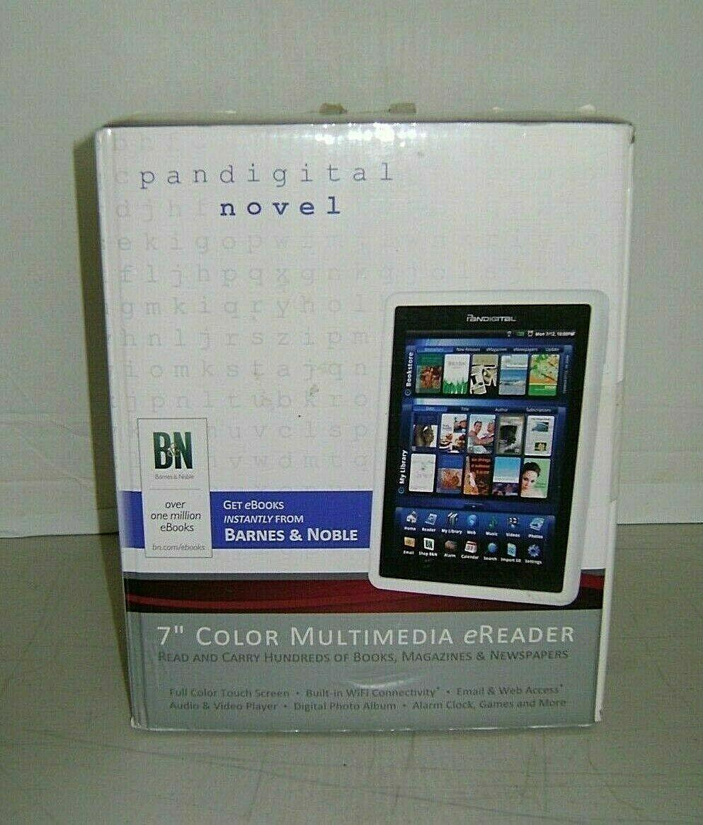 Pandigital Novel PRD07T10WWH7 1GB, Wi-Fi, 7in tablet 843967071191