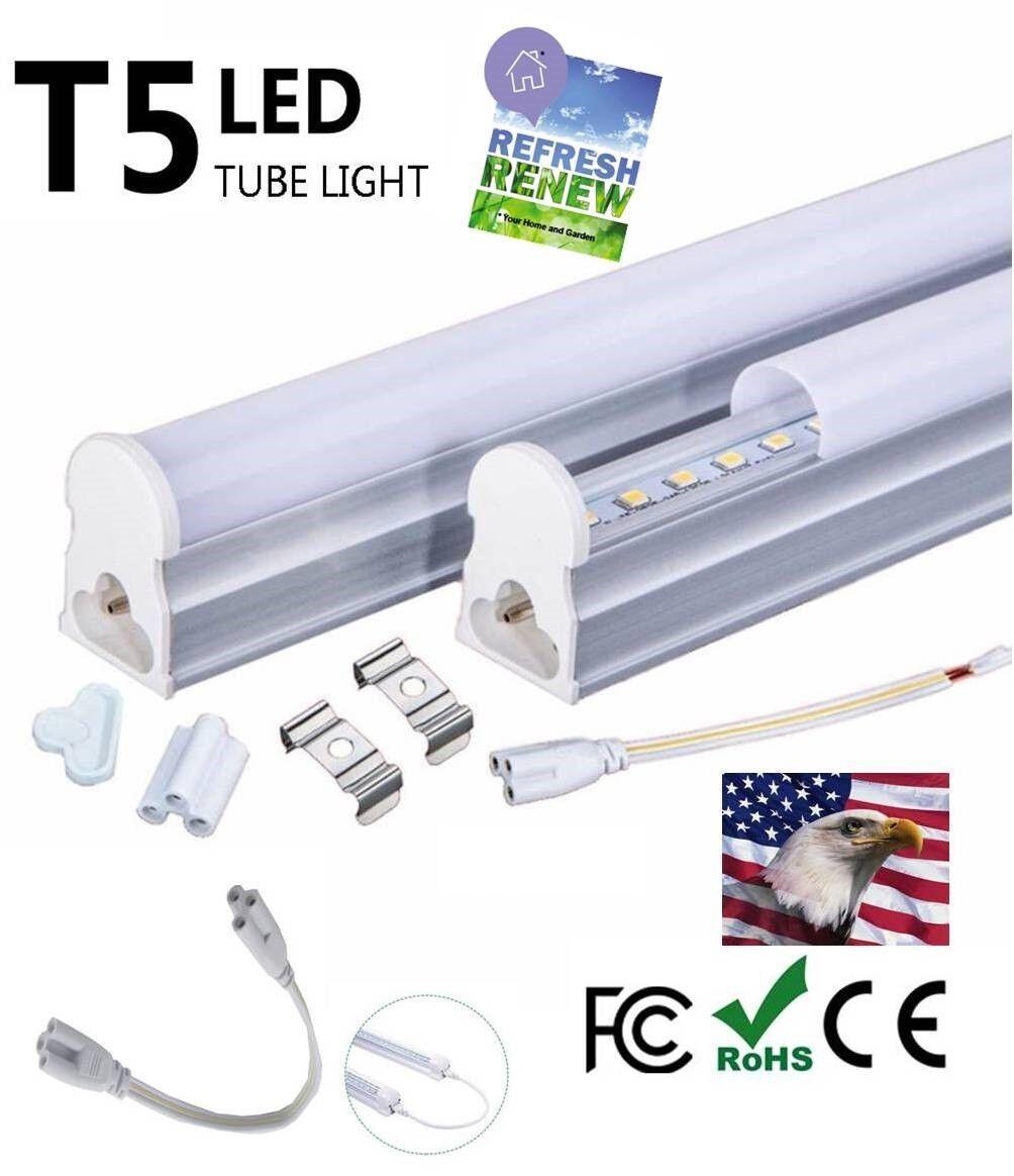 iLett 7 Watts T5 LED Ceiling Light Fixture 2FT 560lm 5000-60