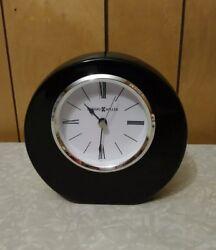 Howard Miller Mahogany Mantle Or Desk Clock. Model Number 645-708.