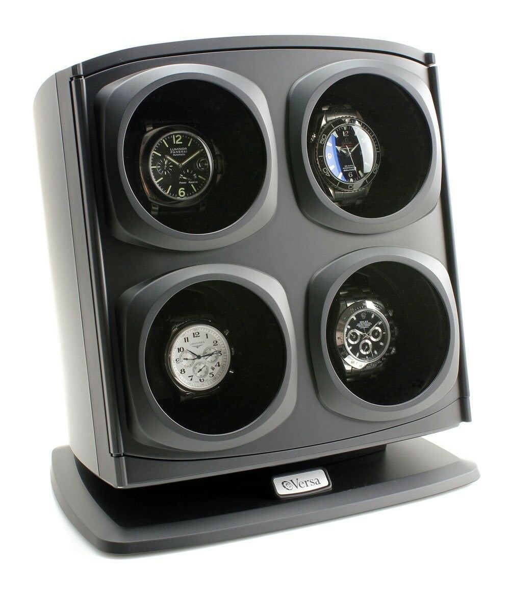 Quad Watch Winder 4 Four Mens Ladies Turner Automatic Luxury