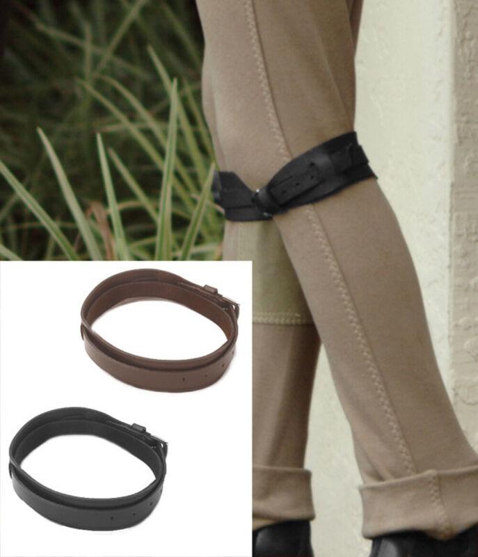 Camelot Jodhpur Garter Straps in Brown or Black