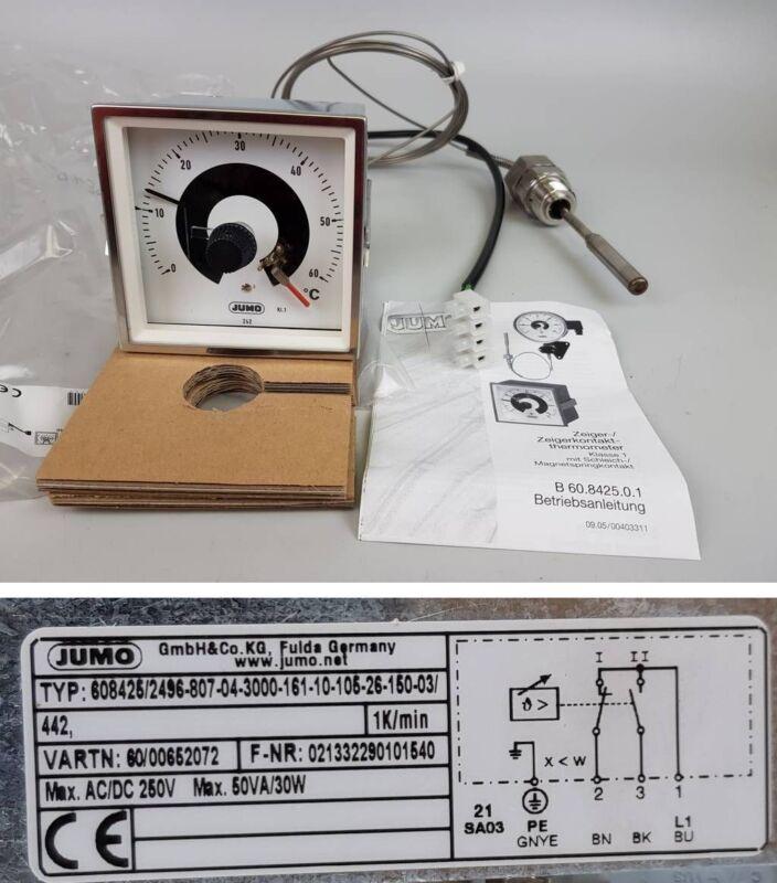 PP4355 Zeigerthermometer Thermostat Temperaturregler Jumo 608425