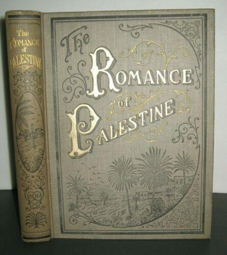 RARE ❤️ ANTIQUE BOOK_PALESTINE_HOLY LAND_JERUSALEM_EGYPT_KINGS_CRUSADES_PAGANS +