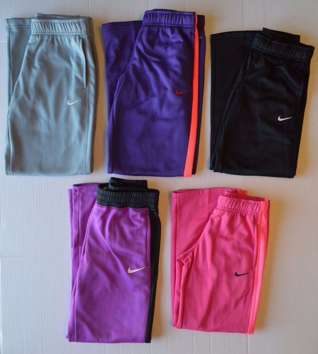 Girl's Youth Nike Therma-fit Athletic Sweat Pants