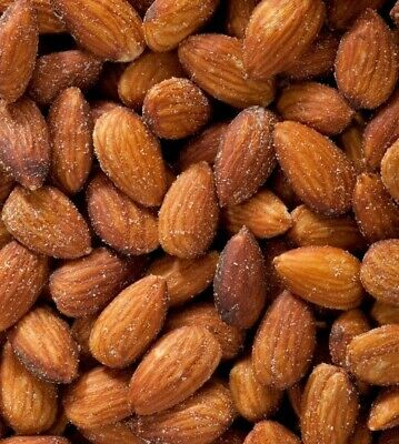 Fresh Roasted & Sea Salted California Almonds Almond Kernels USA Carmel Variety Whole Roasted Almonds
