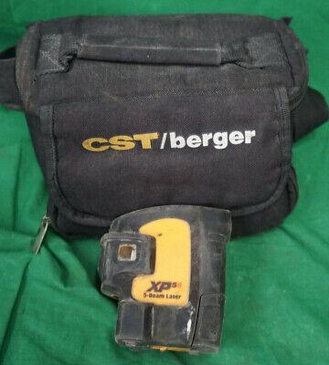 Cst Berger Xp5s 5 Beam Laser Level Wcase