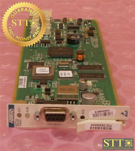 1186003l1 Adtran Mx2820 Scu System Control Unit M3c3ss0aaa