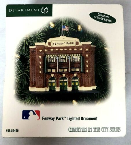 Dept. 56 Fenway Park Lighted Ornament Christmas In The City Series #56.59450 NEW