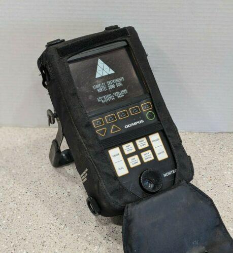 Olympus Nortec 2000D + 9020275.30 DUAL Eddy Current Flaw Detector  2000D PLUS