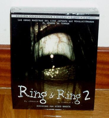 RING & RING 2-EDICION COLECCIONISTA 2 BLU-RAY+2 DVD+ 2 LIBROS-PRECINTADO-TERROR segunda mano  Embacar hacia Argentina