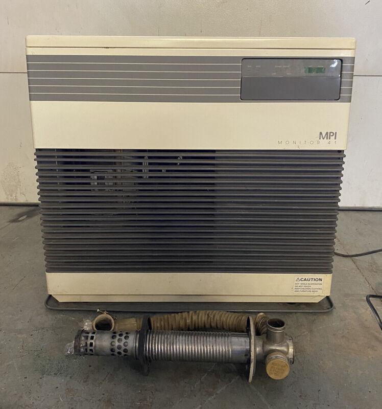 Monitor 41 M-41 MPI Kerosene Room Heater w/Wall Vent Works Great