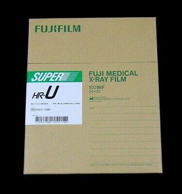 Fuji Medical X-ray Film 100 Nif 24x30 Super Hr-u - Brand New