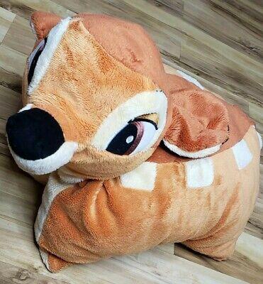 "Disney Parks Bambi Deer Pillow Pet Resort Plush Stuffed Animal Soft Toy 19"""