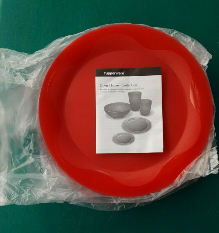 "TUPPERWARE Open House Collection, Floresta 11"" Dinner Plates, Set of four(4) NEW"