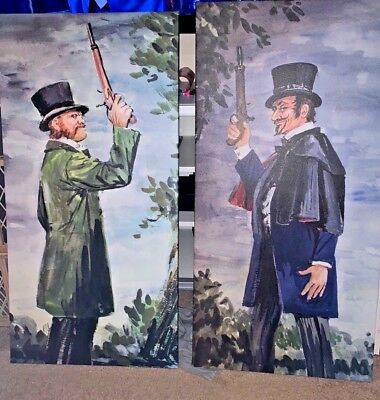 Haunted Mansion Dueling Ghosts Large Canvas Giclees 20x40
