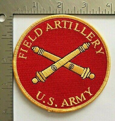 US ARMY FIELD ARTILLERY BRANCH PATCH (Army Branch)