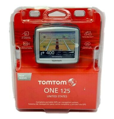 Tom Tom One 125 GPS Navigation (USA)Unit NEW Factory Sealed * QUICK SHIPPING *
