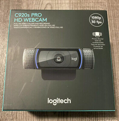 Logitech C920S Pro HD Webcam 1080P Privacy Shutter Brand New *IN HAND*