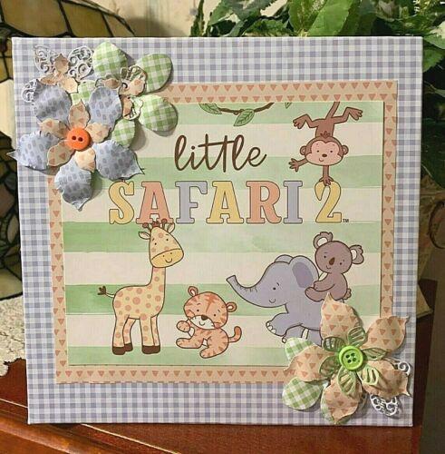 "TPHH Premade Handmade""Little Safari""  Scrapbook Album"