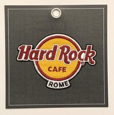 Hard Rock Cafe Rome Souvenir Collectible Patch