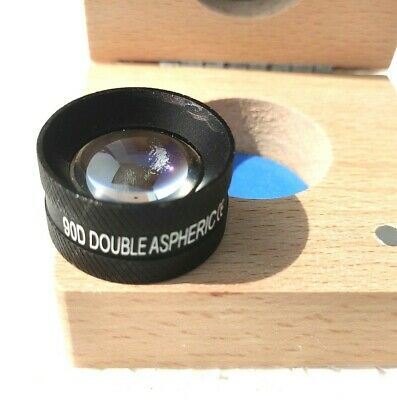 90 D Lens Black Colour Medico Ophthalmology Optometry