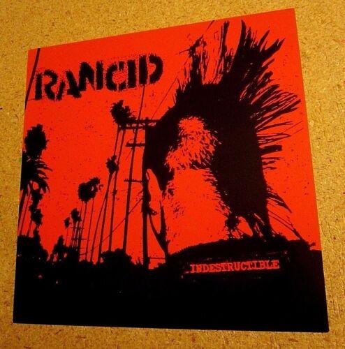 Rancid Indestructible 2003 Double Sided Original Promo Poster Flat