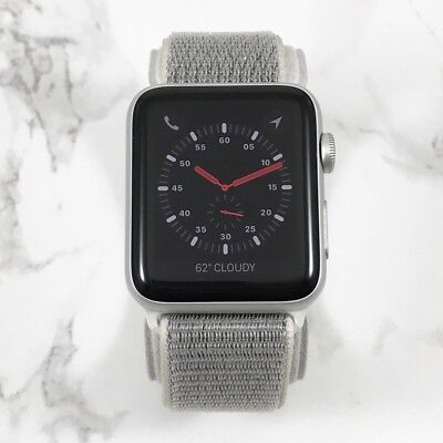 Apple Watch Series 3 42mm Silver Aluminium Case Silver Loop (GPS + Cellular)