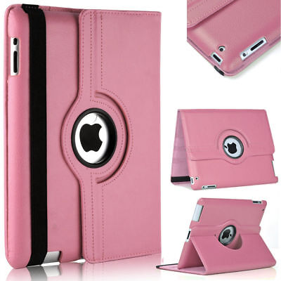 3 in1 Best Quality 360 Rotation Swivel Leather Case Pack For Apple iPad (Best Rotating Ipad Air Case)