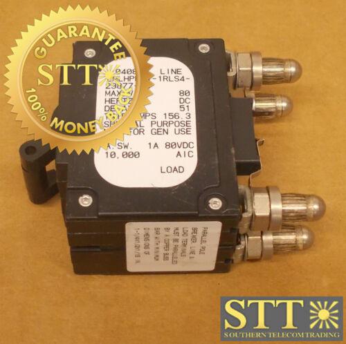 Lmlhpk11-1rls4-29877-16 Airpax 125 Amp Parallel Pole Bullet Circuit Breaker