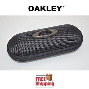 OAKLEY® SUNGLASSES EYEGLASSES SMALL SEMI RIGID VAULT STORAGE CASE NEW FREE SHIP