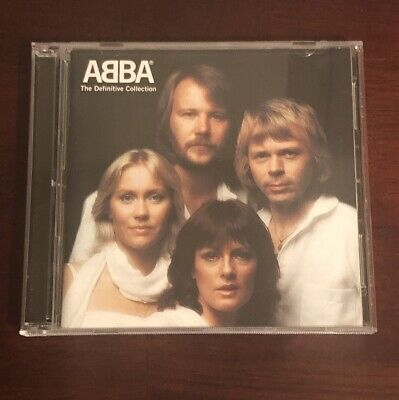 ABBA The Definitive Collection (CD, 2-Discs, 2001)