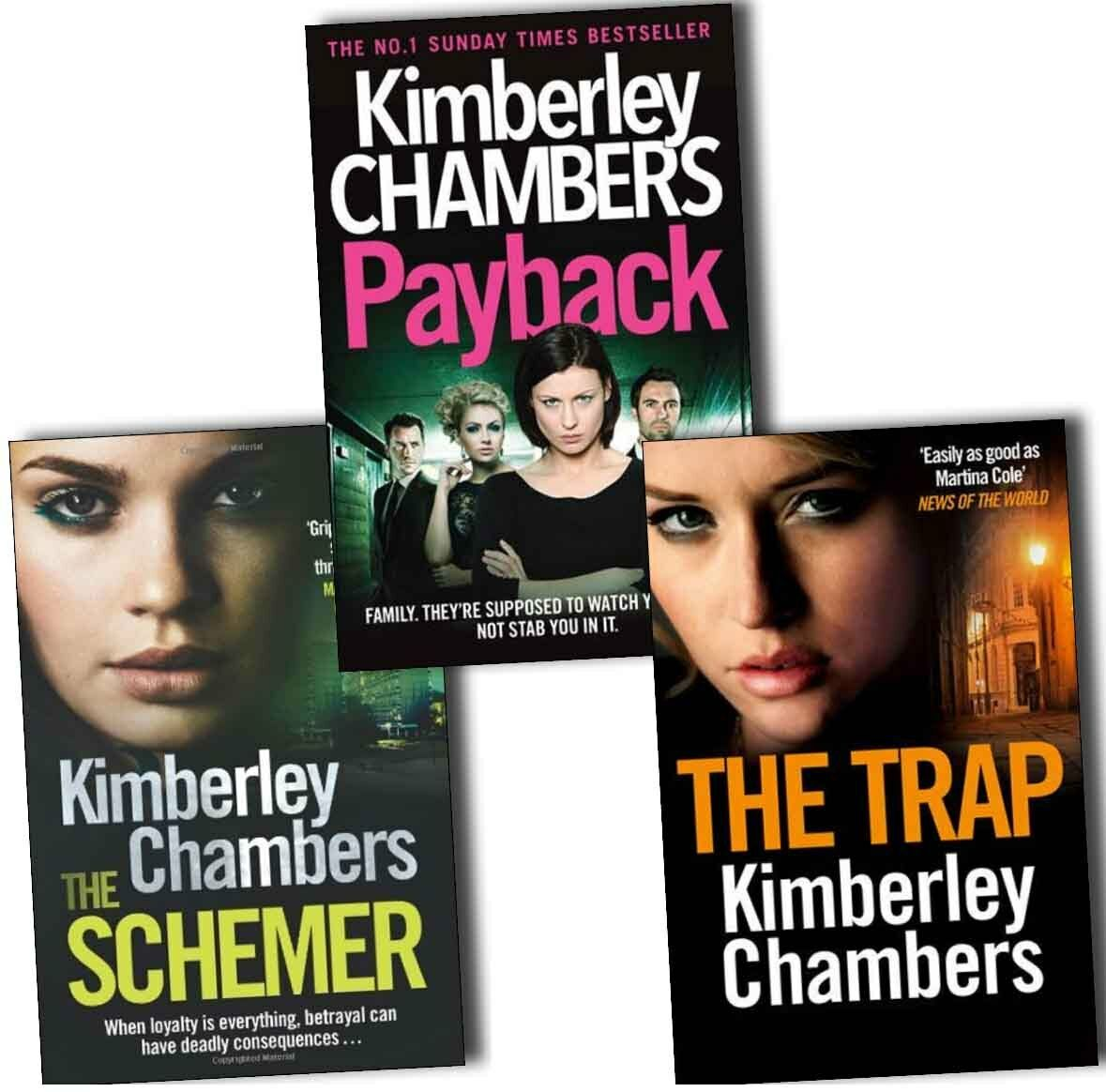 Details about Kimberley Chambers Butlers 3 Books Collection Pack Set-The  Trap,The Schemer