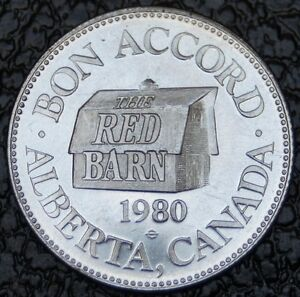 1980-THE-RED-BARN-Bon-Accord-Alberta-Alberta-Wildlife-Park-Nice-NCC