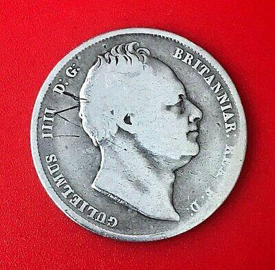 William 5 British Silver Half Crown 1836