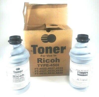 Ricoh Toner Cartridge PN  Toner Refill 41001450, 4022,4027,4522,4527,4622,4822 for sale  Pearson