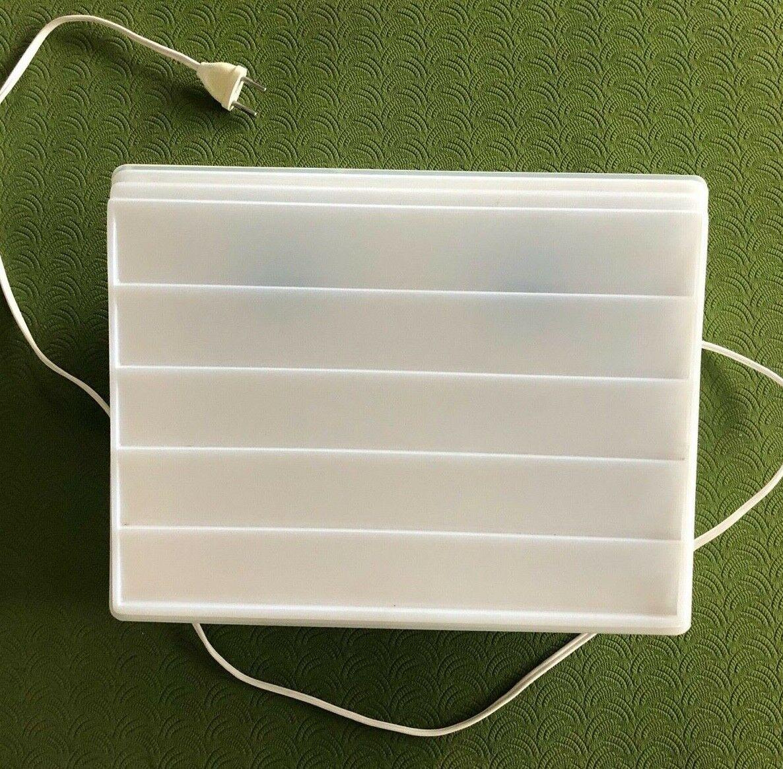 Dia Leuchtpult Diabetrachter, Diasortierpult,Leuchtplatte 2 Glühbirnen a 25 Watt
