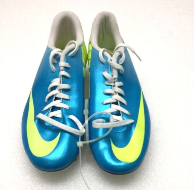 the latest f2ba8 c3c7a Nike 573873 Mens Mercurial Vortex Firm Ground Soccer Cleats