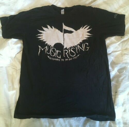 Music Rising U2 The Edge 2006 T Shirt Rare (Size M, Excellent Condition)