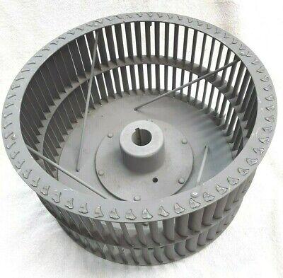 Steel Squirrel Cage Blower Fan Wheel 12.25od 6.25 Wide 1 18 Bore Cw 3600