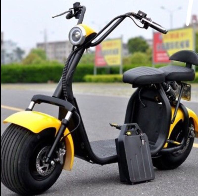 Citycoco New Harley Electric Scooter 1500w /20 Ah Battery. New Choices Of Color