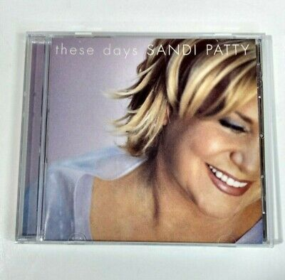 These Days by Sandi Patty (CD, Nov-2000, Word Distribution)