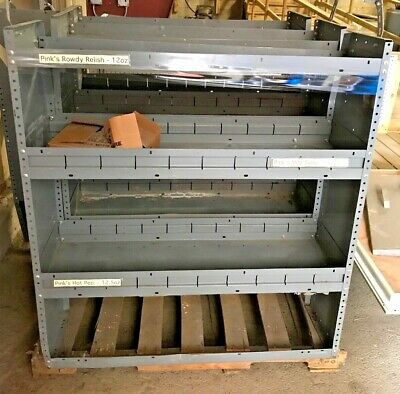 Commercial Metal Shelving Units Sabre Equipment Shelves Lot Of 3 Storage Shelf