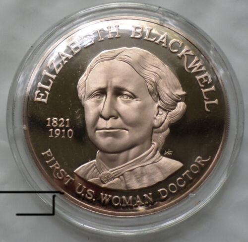 Doctor Elizabeth Blackwell New York Infirmary For Women & Children Bronze Medal