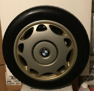 Winter Tires With Rims, BMW Wheel Covers available as well.