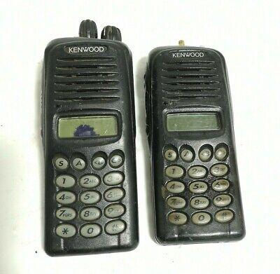 X2 - Kenwood Transceiver Tk-2180-k2 -portable Radio Vhf Fm Transceiver As Is